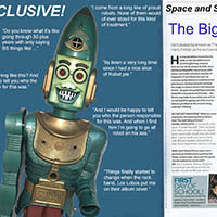 The Space & Science Magazine Interview